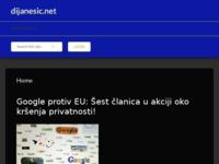 Frontpage screenshot for site: Alen Dijanešić (http://alen-dijanesic.from.hr)