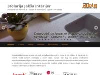 Slika naslovnice sjedišta: Stolarija Jakša Interijer (http://www.jaksa-interijer.hr)