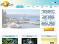 Frontpage screenshot for site: (http://www.apartmaniribarica.com/)