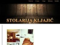 Slika naslovnice sjedišta: Stolarija Kljajić (http://stolarijakljajic.hr/)