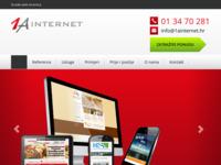 Slika naslovnice sjedišta: Izrada Web Stranica, Grafički Dizajn i Izrada Internet Stranice (http://www.1ainternet.hr/)