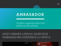 Frontpage screenshot for site: Ambasador nekretnine (http://www.ambasador.hr)