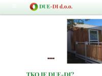 Frontpage screenshot for site: Due-Di proizvodnja terasa (http://www.due-di.hr)