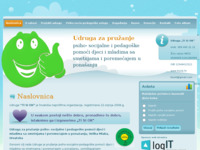 Frontpage screenshot for site: Udruga Ti si OK (http://tisiok.hr)