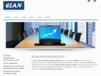 Frontpage screenshot for site: (http://www.elan-si.hr)