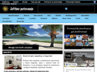Slika naslovnice sjedišta: Informacije, savjeti i ponude za vaša jeftina putovanja (http://www.jeftinoputovanje.com.hr/)