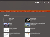 Slika naslovnice sjedišta: Art Domus - Projekti (http://www.artdomus.hr)