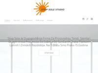 Frontpage screenshot for site: Stop Sole - Proizvodnja te ugradnja tendi i sjenila (http://www.stop-sole.hr)