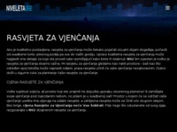 Frontpage screenshot for site: (http://www.lucendi.hr)