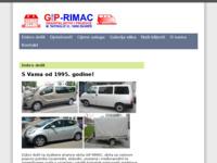 Slika naslovnice sjedišta: giprimac.hr - kombi prijevoz (http://giprimac.hr/)