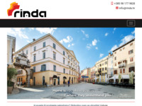 Frontpage screenshot for site: Rinda immobili - Rovinj - Croatia - Home (http://immobili.rinda.hr/)