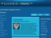 Slika naslovnice sjedišta: Rimanić suveniri (http://www.suveniri-rimanic.hr)