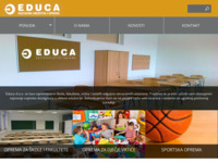 Frontpage screenshot for site: Educa d.o.ol. (http://educa-h.hr)