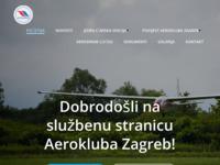 Slika naslovnice sjedišta: Aeroklub Zagreb (http://www.aeroklub-zagreb.hr)