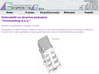 Slika naslovnice sjedišta: Grinmonting d.o.o. (http://www.grinmonting.hr)