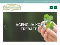 Frontpage screenshot for site: Nekretnine Krivačić (http://www.nekretnine-krivacic.hr)