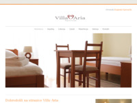 Frontpage screenshot for site: Villa Aria - Smještaj u Sesvetama (http://www.aria-rooms.com)
