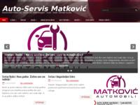 Slika naslovnice sjedišta: Auto-Servis Matković Imotski (http://www.autoservis-matkovic.hr/)