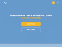 Frontpage screenshot for site: Izleti i ekskurzije iz Dubrovnika - Adriatic Explore Travel (http://www.adriatic-explore.com/)