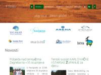 Slika naslovnice sjedišta: Istarski teniski savez (http://www.teniski-savez-istre.hr)