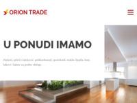 Slika naslovnice sjedišta: Prodaja i ugradnja parketa - Orion Trade Zadar (http://www.oriontrade.hr)