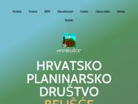Slika naslovnice sjedišta: Hrvatsko planinarsko društvo Belišće (http://www.hpd-belisce.hr)
