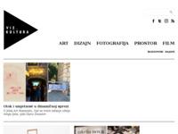 Frontpage screenshot for site: vizkultura.hr (http://vizkultura.hr)