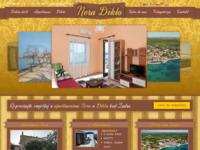 Slika naslovnice sjedišta: Apartmani Nera u Diklu kod Zadra (http://www.neradiklo.com/)