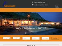 Frontpage screenshot for site: Nekretnine D2 - Rab (http://www.nekretnine-d2.hr)