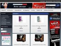 Slika naslovnice sjedišta: V2 elektronska cigareta (http://www.v2smoke.hr/)