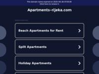 Frontpage screenshot for site: Apartman Rijeka No.1, savršen smještaj u centru Rijeke (http://www.apartments-rijeka.com/ )