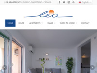 Slika naslovnice sjedišta: Apartmani Lea - Drage (http://www.lea-apartments.com/)