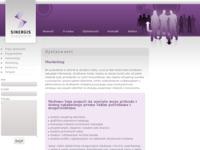 Slika naslovnice sjedišta: S.I.N.E.R.G.I.S. (http://www.sinergis.hr/marketing.html)