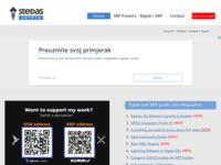 Slika naslovnice sjedišta: Stedas - izrada Internet stranica (http://www.stedas.hr)