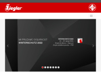 Slika naslovnice sjedišta: Ziegler d.o.o. (http://www.ziegler.hr)