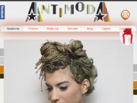 Slika naslovnice sjedišta: Frizerski Studio Antimoda (http://www.antimoda.hr)