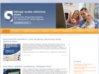 Slika naslovnice sjedišta: Udruga osoba oštećena sluha Bjelovar (http://uoosbbz.hr/)