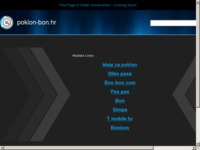 Frontpage screenshot for site: Pokloni, poklon za rođendan (http://www.poklon-bon.hr)