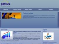 Slika naslovnice sjedišta: Parcus d.o.o. (http://www.parcus.hr)