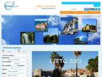 Frontpage screenshot for site: Travelino - klikom do putovanja (http://www.travelino.hr/)