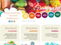 Frontpage screenshot for site: Bomboni i lizalice (http://bombon.hr/)
