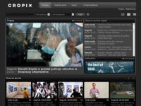 Frontpage screenshot for site: (http://cropix.hr)