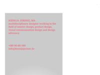 Slika naslovnice sjedišta: Ksenija Jurinec - Dizajn studio (http://www.ksenijajurinec.hr)