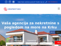Frontpage screenshot for site: Agencija za nekretnine Anna Tours - nekretnine Krk, Njivice, Malinska,Vrbnik (http://www.krk-immobilien.net)