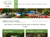 Frontpage screenshot for site: (http://ot-kvarner-krk.com/)