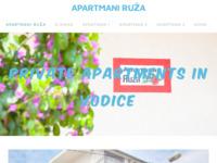 Slika naslovnice sjedišta: Apartmani Ruza Vodice - Apartmani Ruža (http://www.apartmaniruza.com)