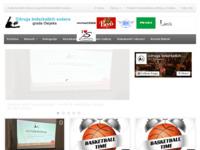 Slika naslovnice sjedišta: Udruga košarkaških sudaca grada Osijeka (http://www.uksgo.hr)