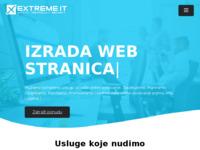 Slika naslovnice sjedišta: Izrada internet stranica i profesionalna IT rjesenja - Extreme IT (http://www.extremeit.hr)
