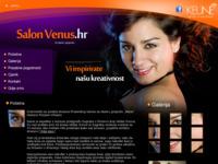 Slika naslovnice sjedišta: Venus frizerski salon (http://www.salon-venus.hr)