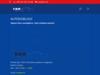 Slika naslovnice sjedišta: TAS Autodijelovi - TAS Autoservis (http://www.tas.hr)